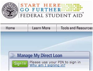 Manage My Direct Loan: Sign In